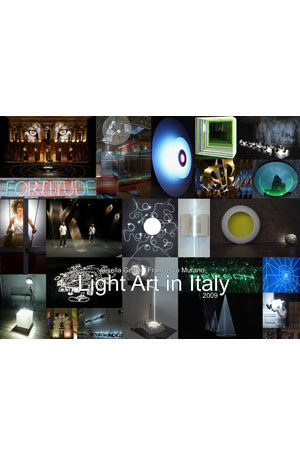 Light art in Italy - Glue Light