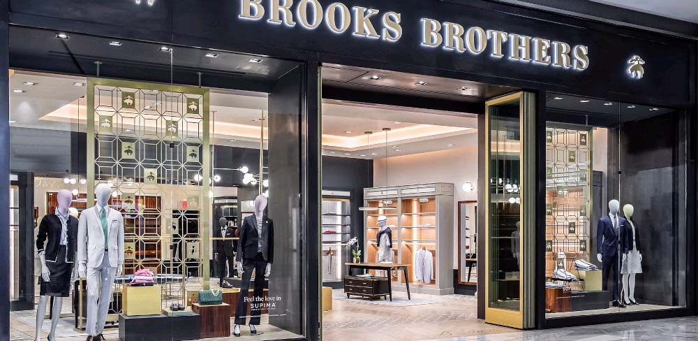 Brooks Brothers | lighting design