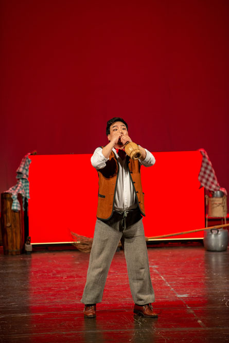 L'Elisir d'Amore | lighting design