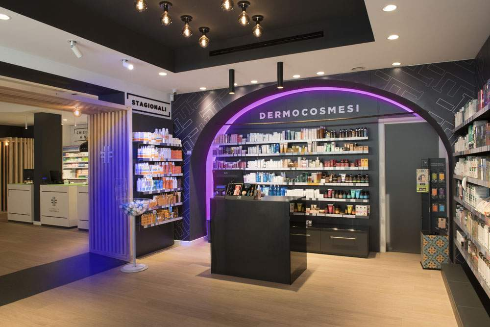 Farmacia Frezzato | lighting design